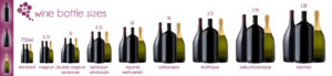 Big format wine bottles