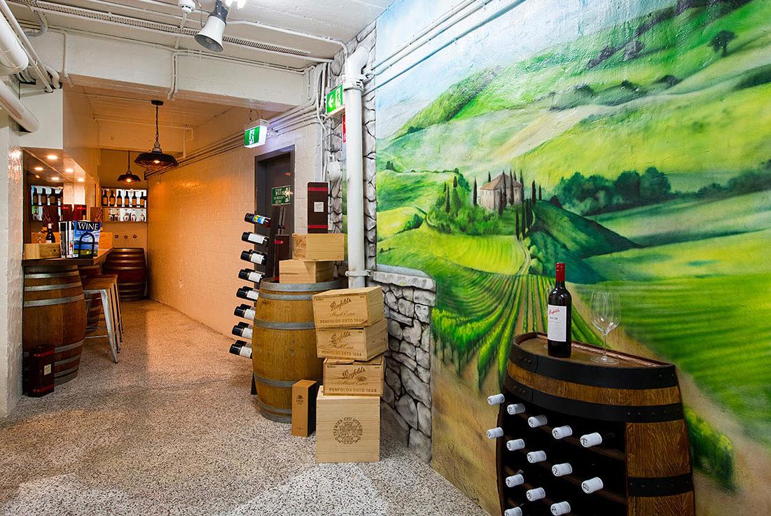 Wine Tasting Area