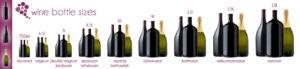 Big format wine bottles