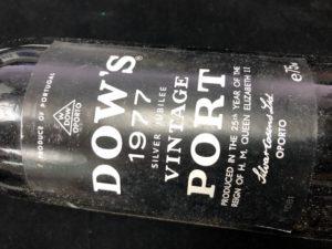 Dows Vintage Port 1977